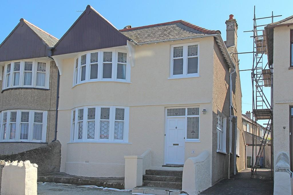 4 Bedrooms Semi Detached House for sale in Tan Y Bryn Road, Holyhead, North Wales