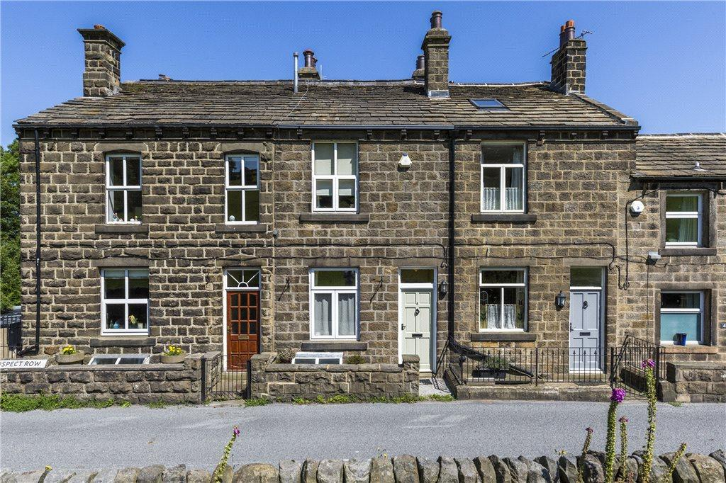3 Bedrooms Terraced House for sale in Prospect Row, Burley Woodhead, Ilkley, West Yorkshire