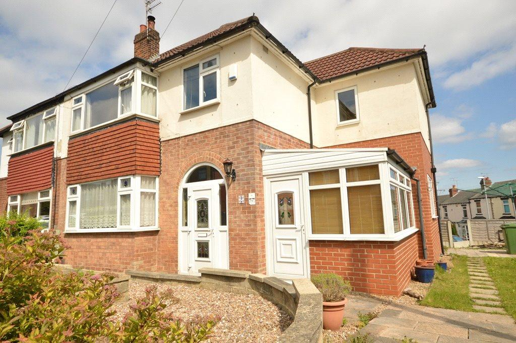 4 Bedrooms Semi Detached House for sale in Springfield Gardens, Horsforth, Leeds