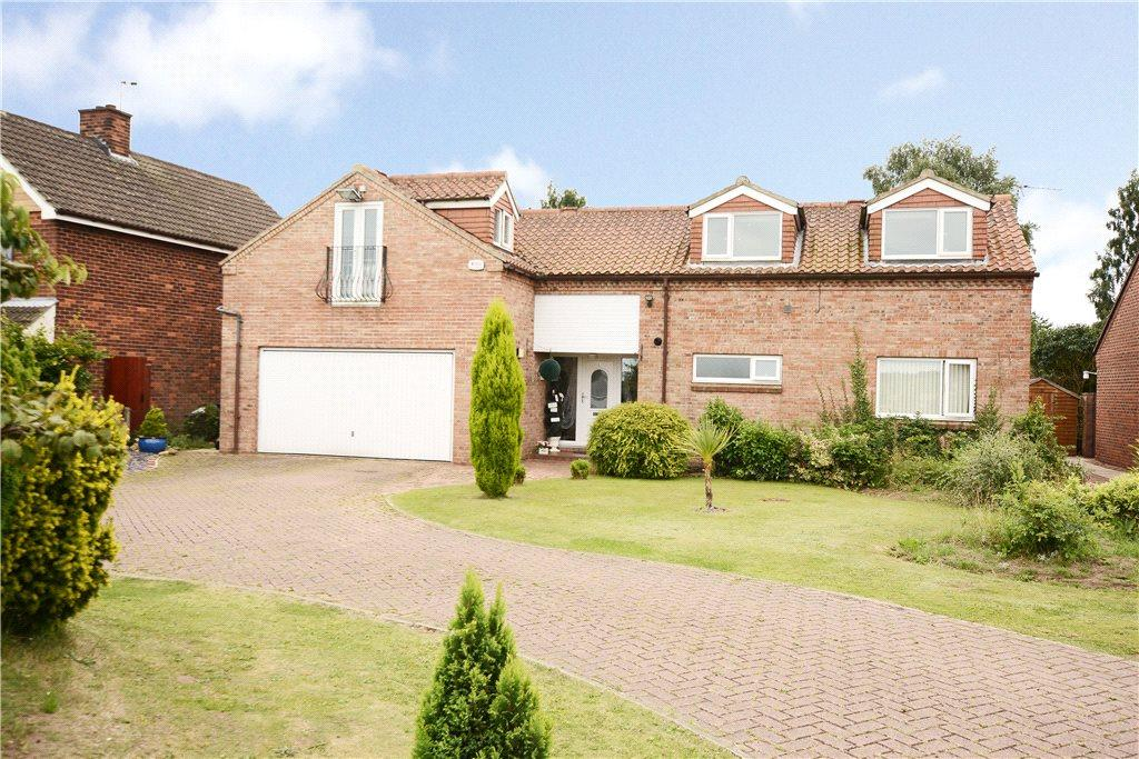 4 Bedrooms Detached House for sale in Main Road, Hambleton, Selby, North Yorkshire