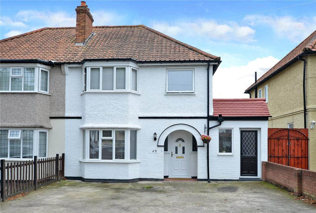 3 Bedrooms Semi Detached House for sale in Ridge Road, Sutton, Surrey, SM3