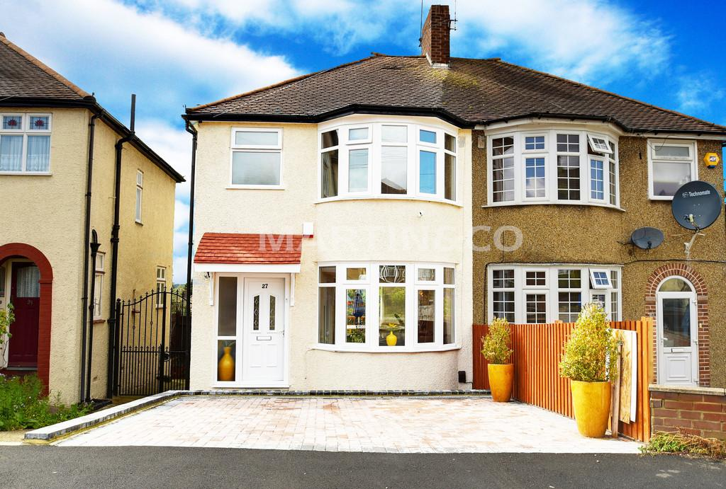 3 Bedrooms Semi Detached House for sale in Dovedale Avenue, Clayhall