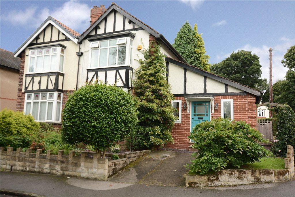 2 Bedrooms Semi Detached House for sale in Cliff Road Gardens, Headingley, Leeds