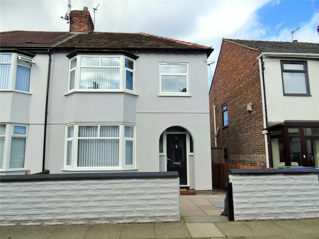 3 Bedrooms Semi Detached House for sale in Mossfield Road, Orrell Park, Liverpool, L9
