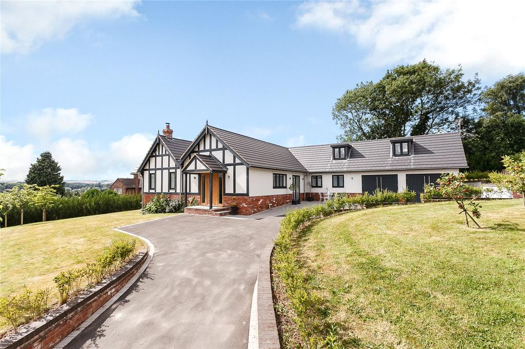 4 Bedrooms Detached Bungalow for sale in New Road, Ludlow, Shropshire