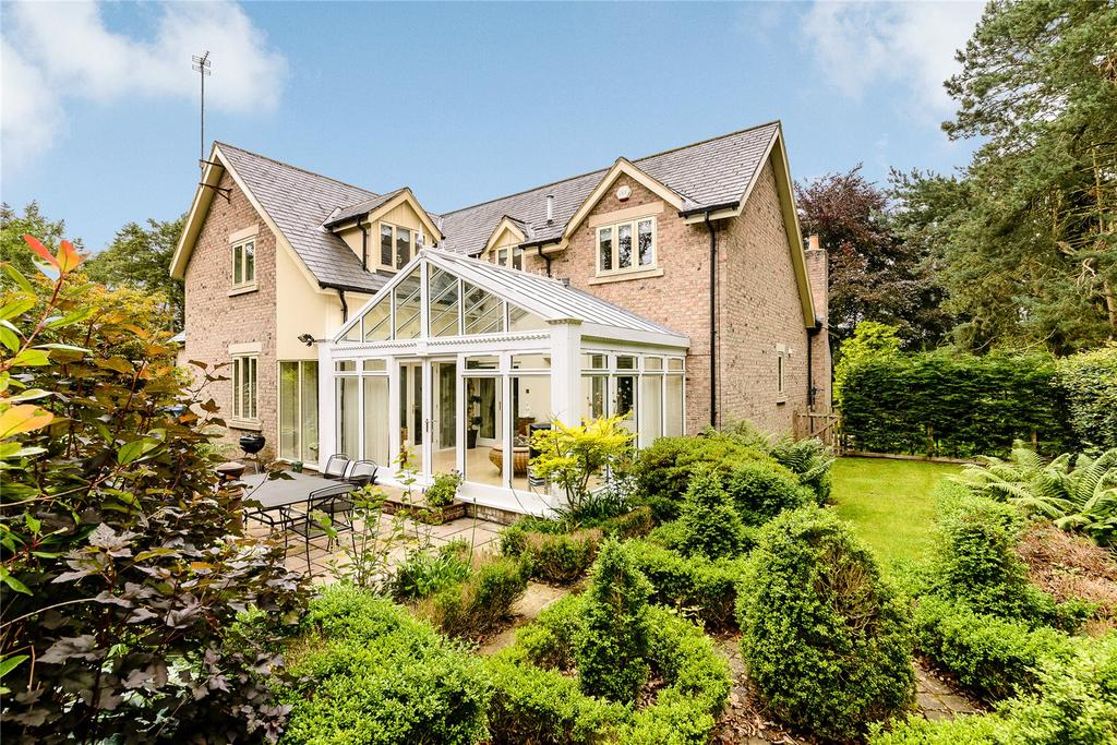 5 Bedrooms Detached House for sale in Fulbeck, Morpeth, Northumberland