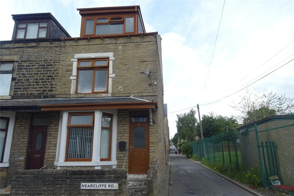 4 Bedrooms End Of Terrace House for sale in Nearcliffe Road, Bradford, West Yorkshire, BD9