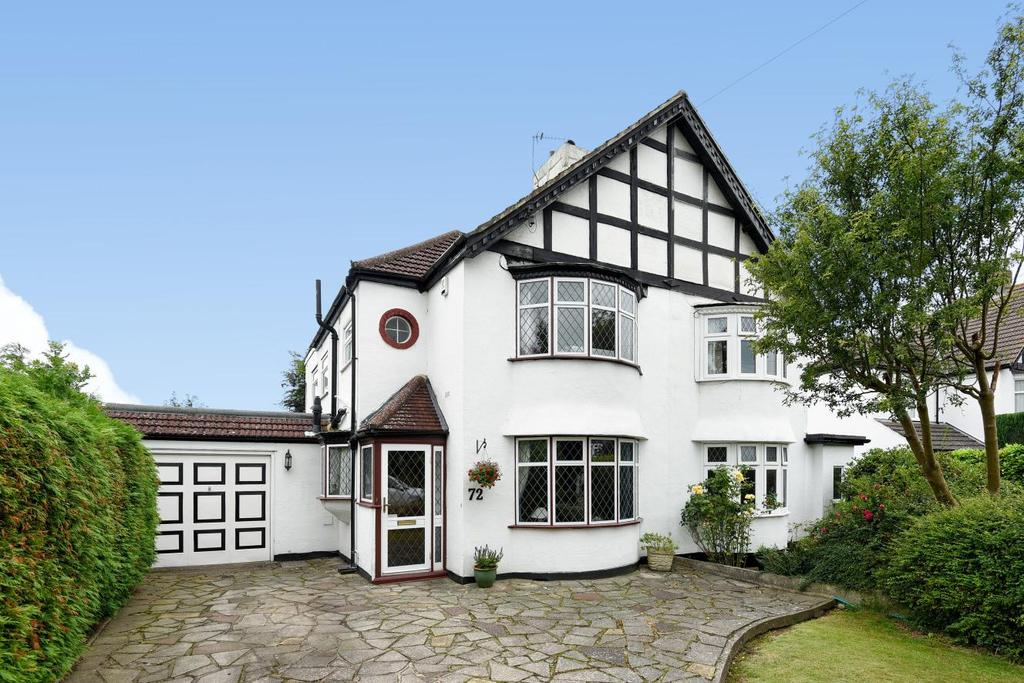 3 Bedrooms Semi Detached House for sale in Kingsway, West Wickham