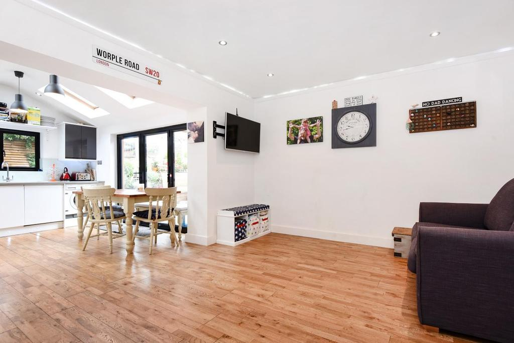 4 Bedrooms Semi Detached House for sale in Worple Road, West Wimbledon