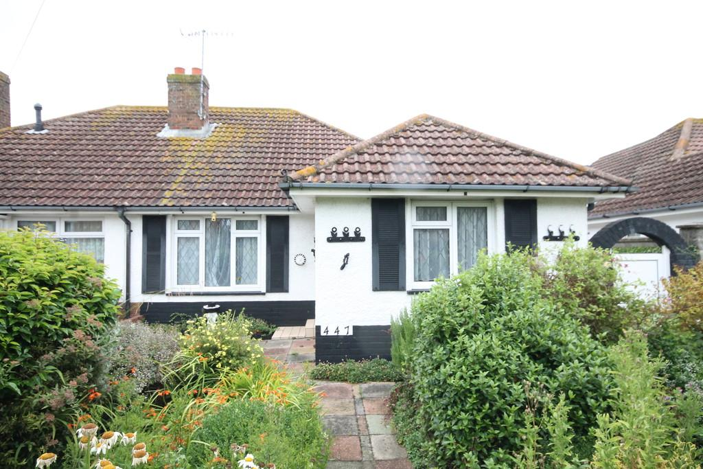 2 Bedrooms Semi Detached Bungalow for sale in Brighton Road, Lancing