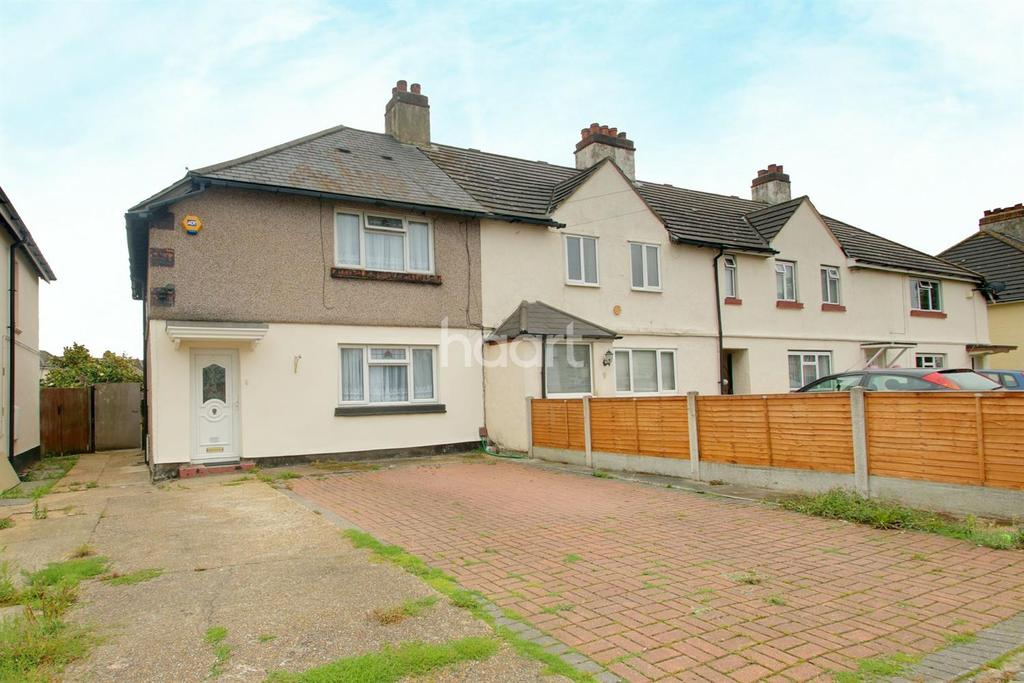 3 Bedrooms End Of Terrace House for sale in Ingrebourne Road, Rainham
