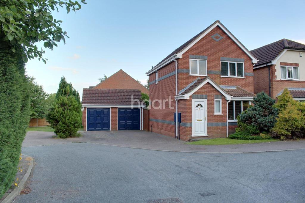 3 Bedrooms Detached House for sale in Laud Close, Dussindale