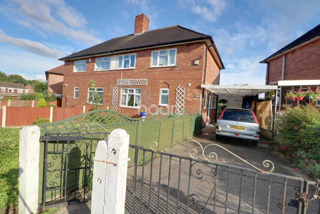 3 Bedrooms Semi Detached House for sale in Bodmin Drive, Aspley
