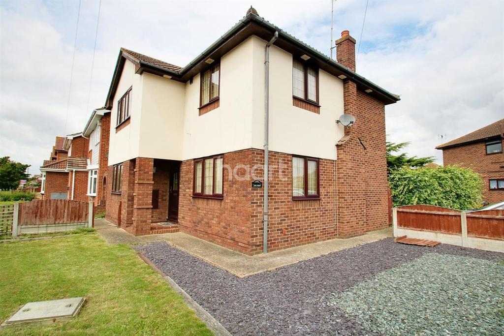 4 Bedrooms Detached House for sale in Link Road, Canvey Island