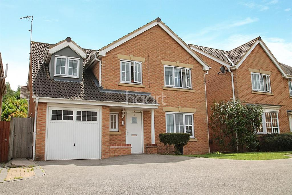 5 Bedrooms Detached House for sale in Chalon Close, Wellingborough