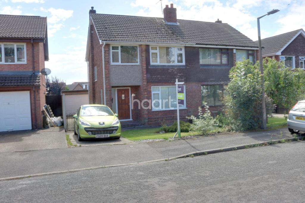 3 Bedrooms Semi Detached House for sale in Conway Road, Hucknall