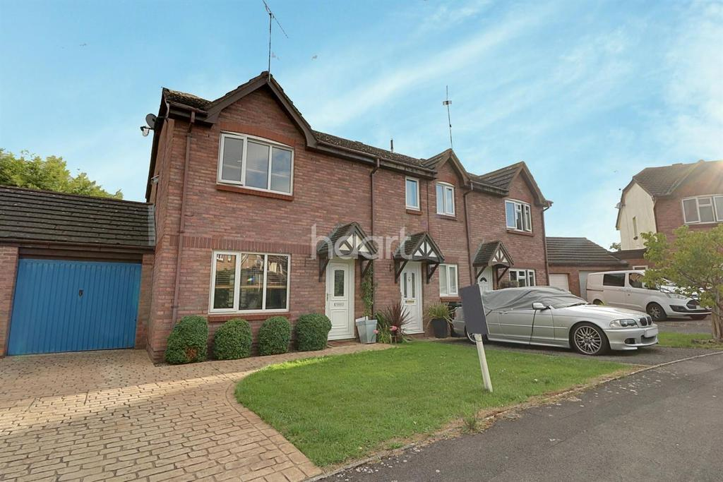 3 Bedrooms End Of Terrace House for sale in Lucerne Close, Swindon, Wiltshire