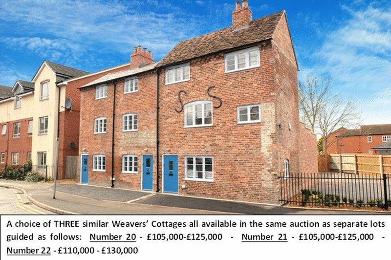 2 Bedrooms End Of Terrace House for sale in Horsefair, Kidderminster DY10 2EN