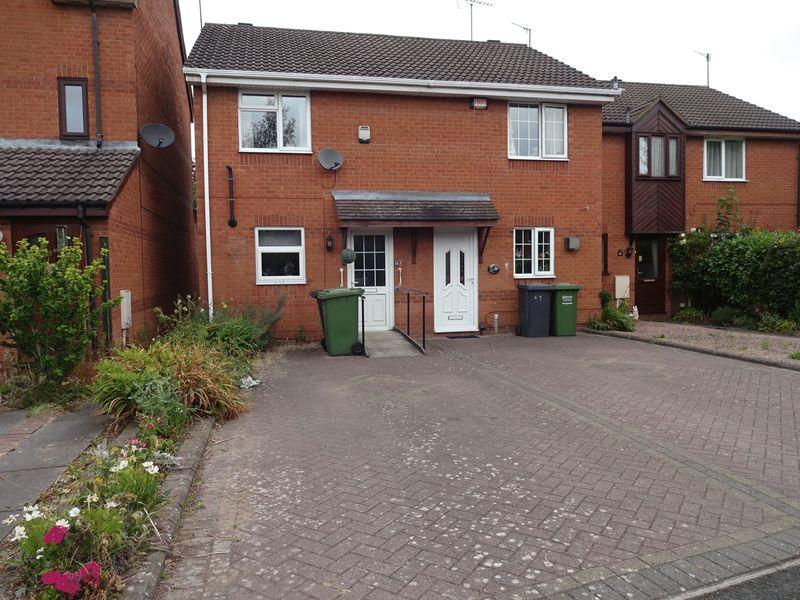 2 Bedrooms End Of Terrace House for sale in Adams Court, Kidderminster DY10 2SF