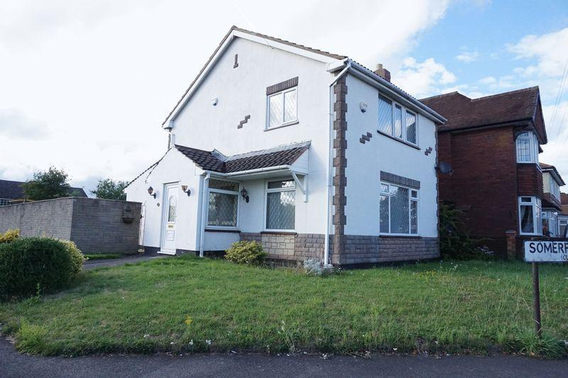 3 Bedrooms Detached House for sale in Somerfield Close, Shelfield, Walsall