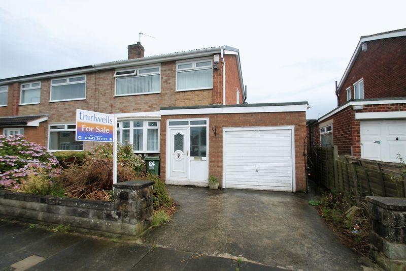3 Bedrooms Semi Detached House for sale in Clifton Avenue, Billingham