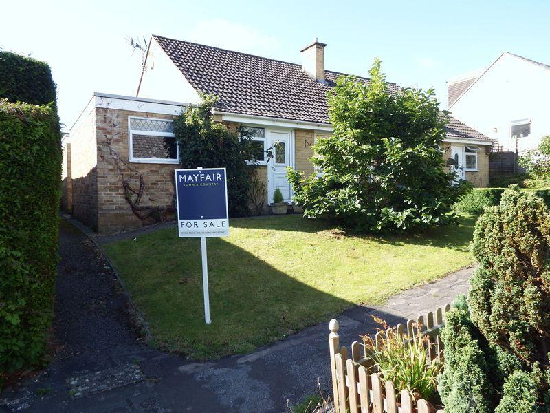 2 Bedrooms Semi Detached Bungalow for sale in Parkland Walk, Crewkerne