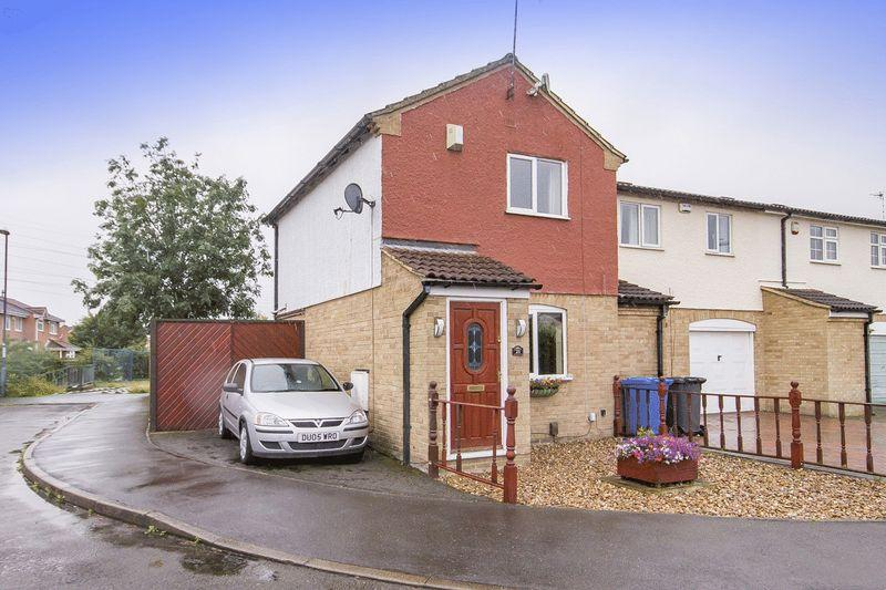 2 Bedrooms Terraced House for sale in THORNESS CLOSE, ALVASTON