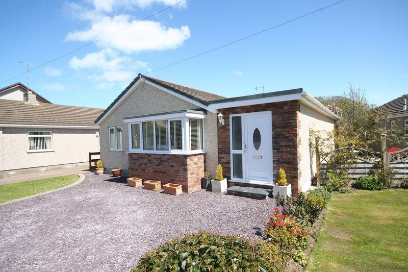 4 Bedrooms Detached Bungalow for sale in Llaingoch, Holyhead, Anglesey