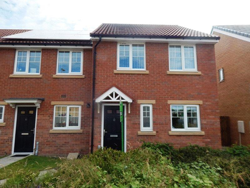 3 Bedrooms Semi Detached House for sale in Crofthead Close, Blyth