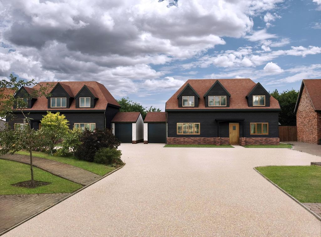 Mill courtyard steeple morden sg8 4 bed detached house for Morden houses for sale