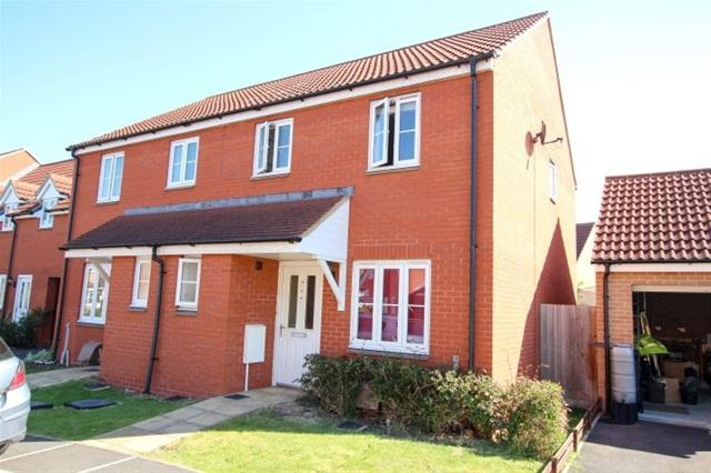3 Bedrooms Semi Detached House for sale in Cotton Patch Walk, Bridgwater