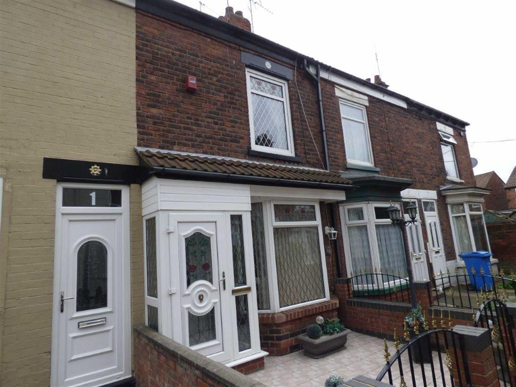 2 Bedrooms Terraced House for sale in Strathcona Villas, Ceylon Street, Hull, East Yorkshire, HU9