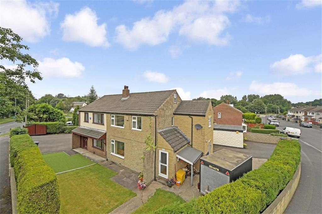 4 Bedrooms Semi Detached House for sale in Crossley Lane, Dalton, Huddersfield, HD5