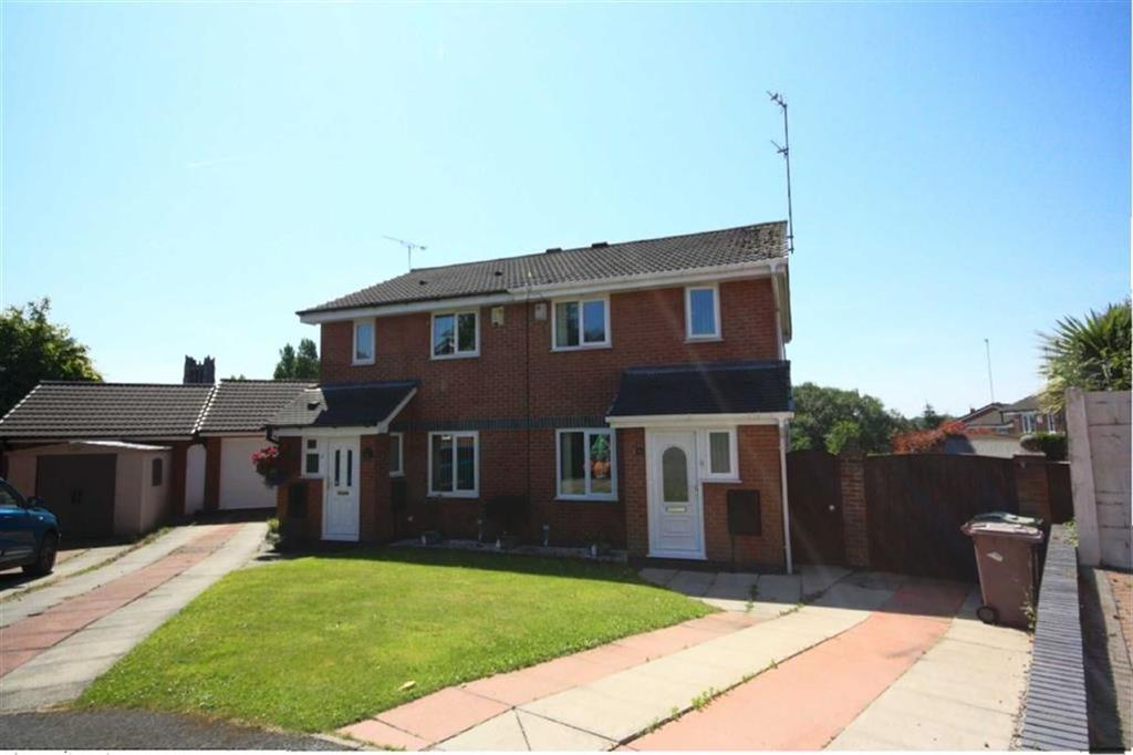 3 Bedrooms Semi Detached House for sale in Morello Close, Cowley Hill, St Helens, WA10