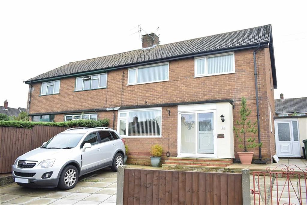 4 Bedrooms Semi Detached House for sale in Leeswood Road, CH49