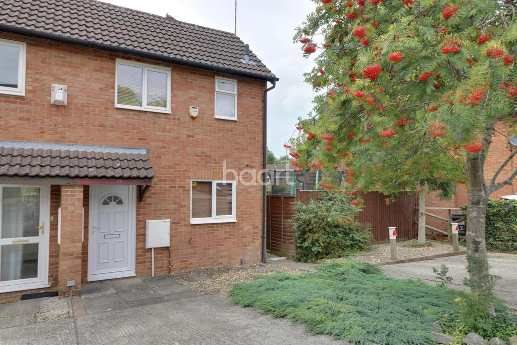1 Bedroom End Of Terrace House for sale in Bayleaf Avenue, Woodhall Park, Swindon