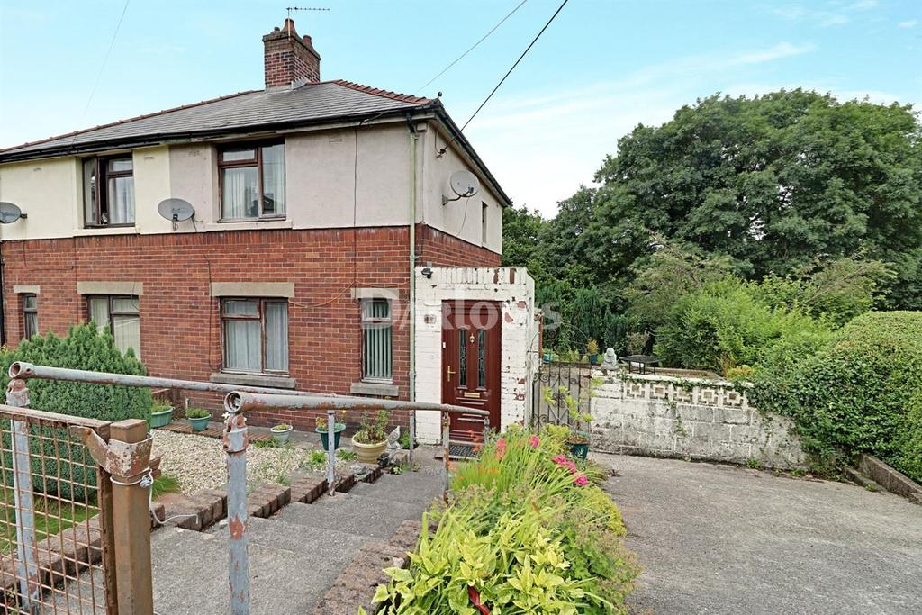 2 Bedrooms Semi Detached House for sale in The Crescent, Caerphilly