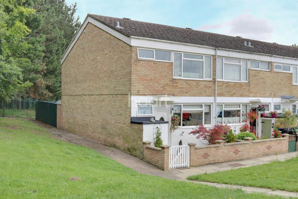 3 Bedrooms End Of Terrace House for sale in Guildford Way, Thetford