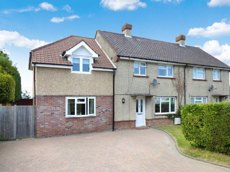 4 Bedrooms Semi Detached House for sale in Cricketfield, Newick