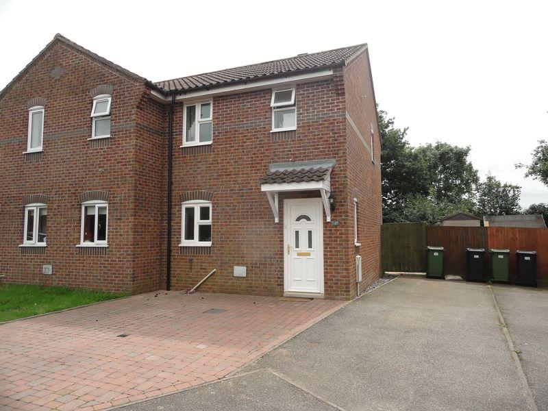 2 Bedrooms Semi Detached House for sale in Buxton Close, Easton, Norwich