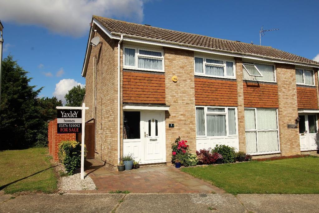 3 Bedrooms Semi Detached House for sale in Eden Close Witham Essex CM8 1LA