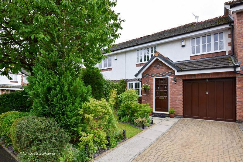 3 Bedrooms Terraced House for sale in Bucklow Gardens, Lymm