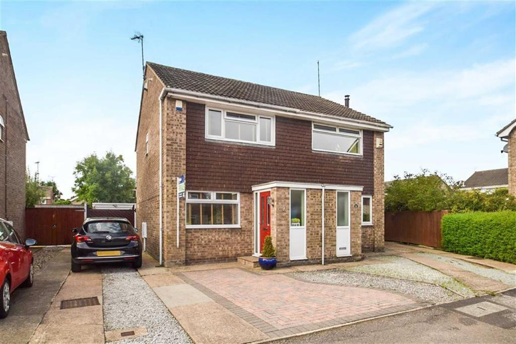 2 Bedrooms Semi Detached House for sale in Ingleby Close, Howdale Road, Hull, HU8