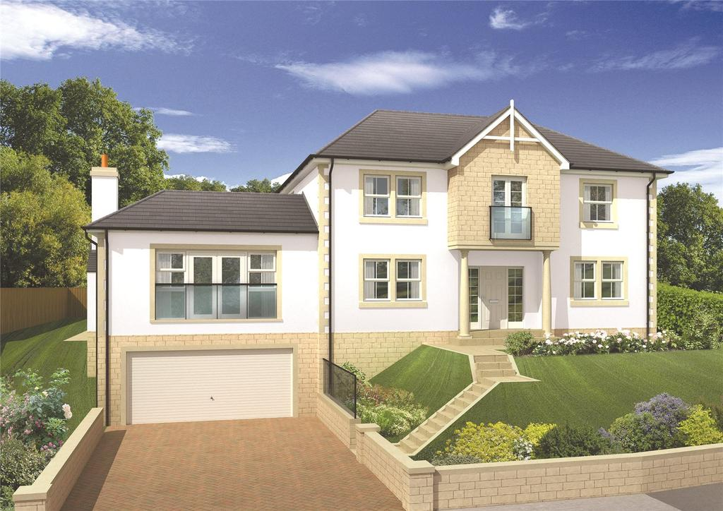 5 Bedrooms Detached House for sale in Monkswood, Gattonside, Melrose, Scottish Borders