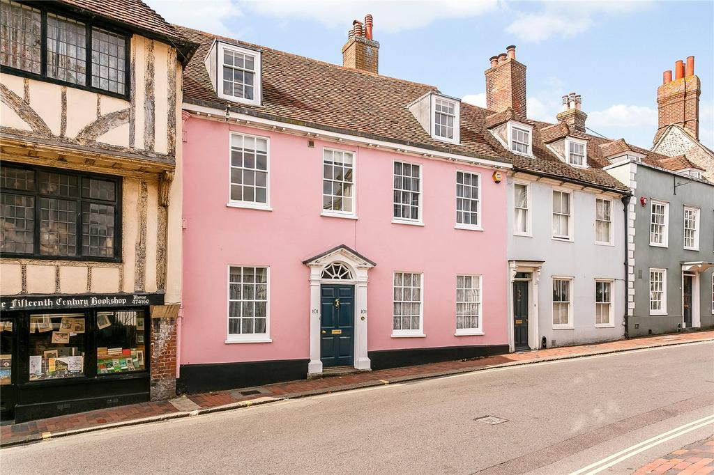 5 Bedrooms Terraced House for sale in High Street, Lewes, East Sussex