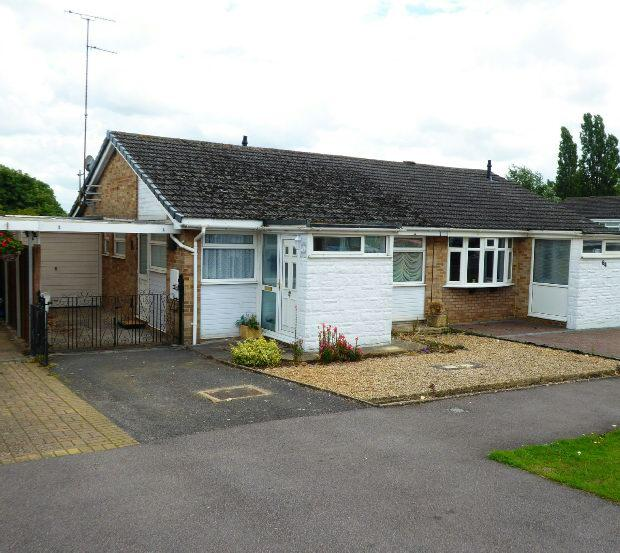 2 Bedrooms Semi Detached Bungalow for sale in Nursery Drive, Banbury