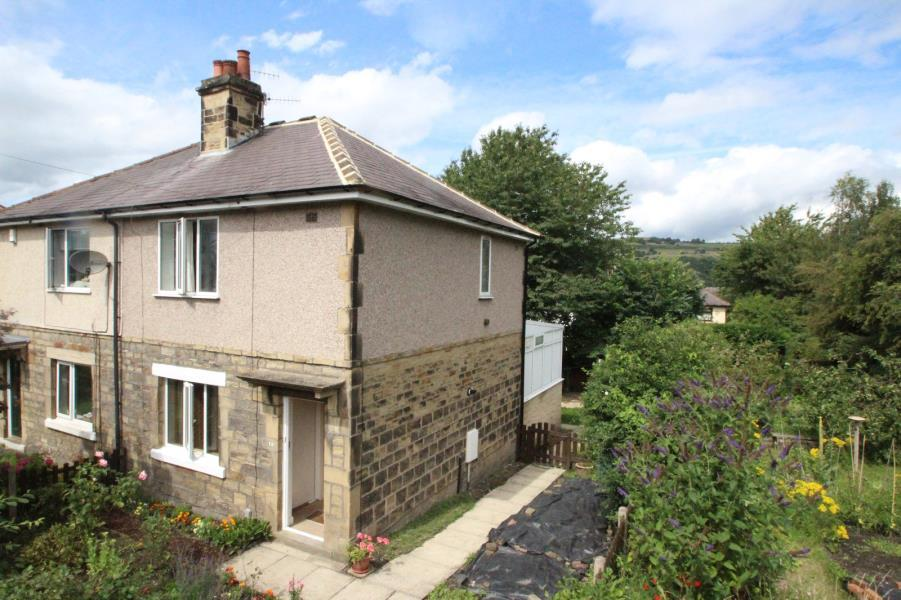 3 Bedrooms Semi Detached House for sale in HIRST LANE, SHIPLEY, BD18 4ND