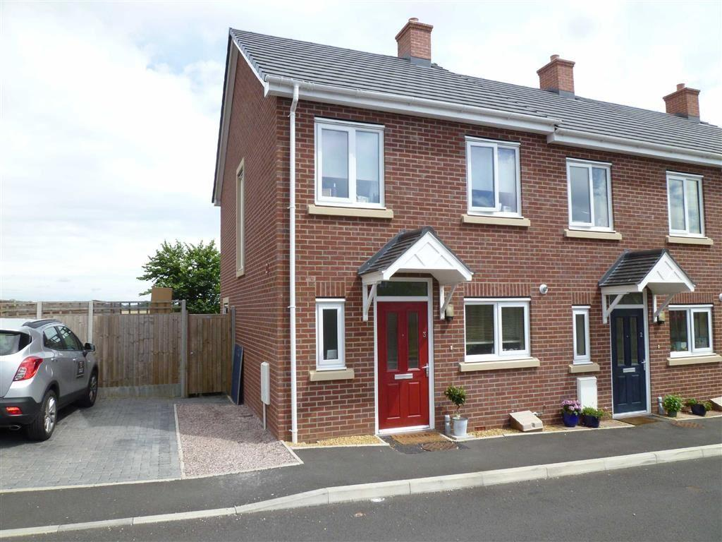 2 Bedrooms End Of Terrace House for sale in Whittle Close, Bridgnorth, Shropshire