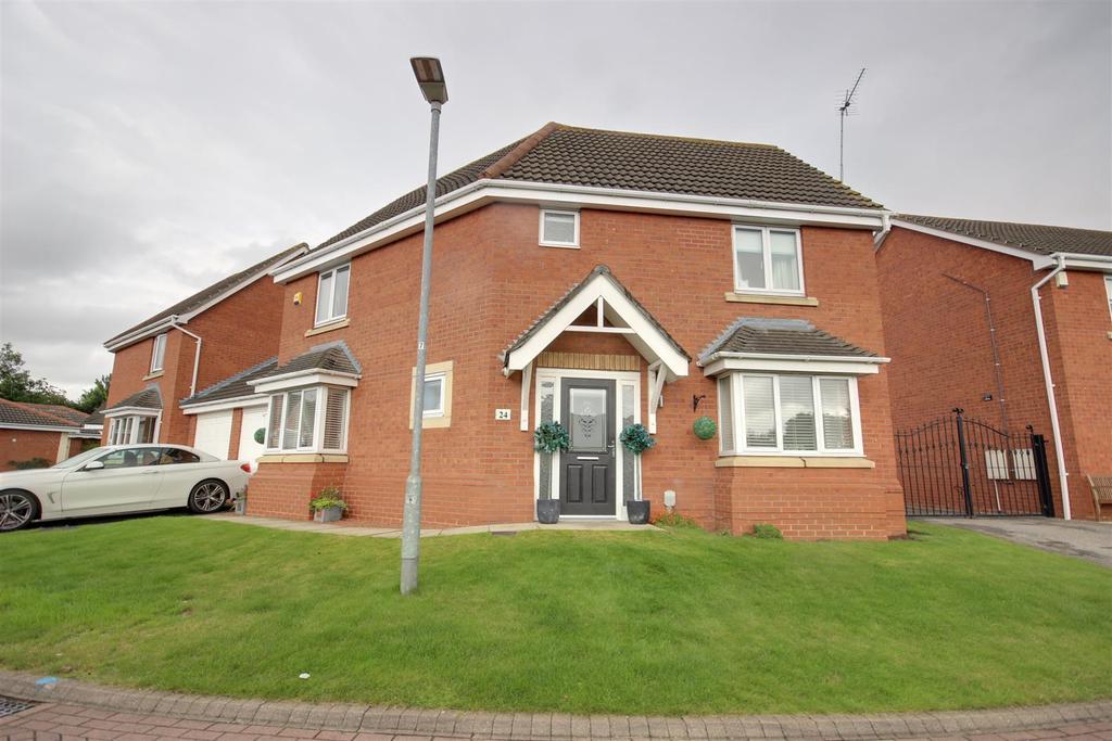 3 Bedrooms Detached House for sale in Alder Close, Brough