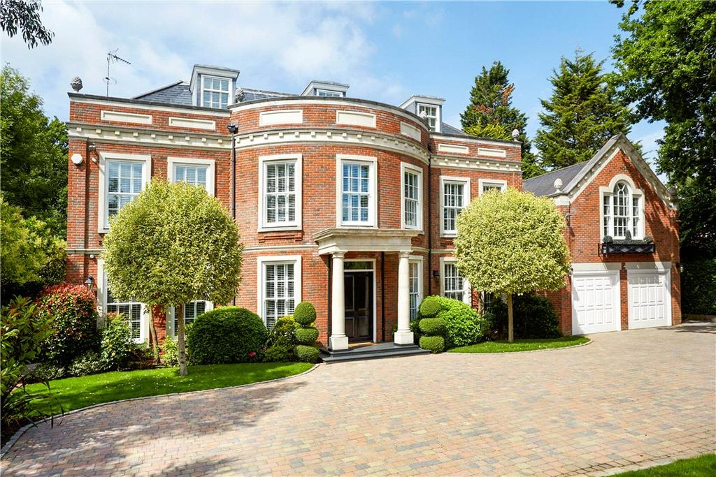 7 Bedrooms Detached House for sale in Spicers Field, Oxshott, Surrey, KT22
